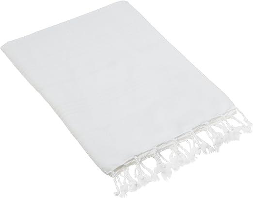 Cacala Toallas de baño Turco de Serie, algodón, Blanco, 95 x 175 x ...