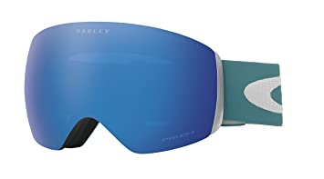 oakley snow goggles prizm  Amazon.com : Oakley Men\u0027s Flight Deck Snow Goggles, Aurora Blue ...