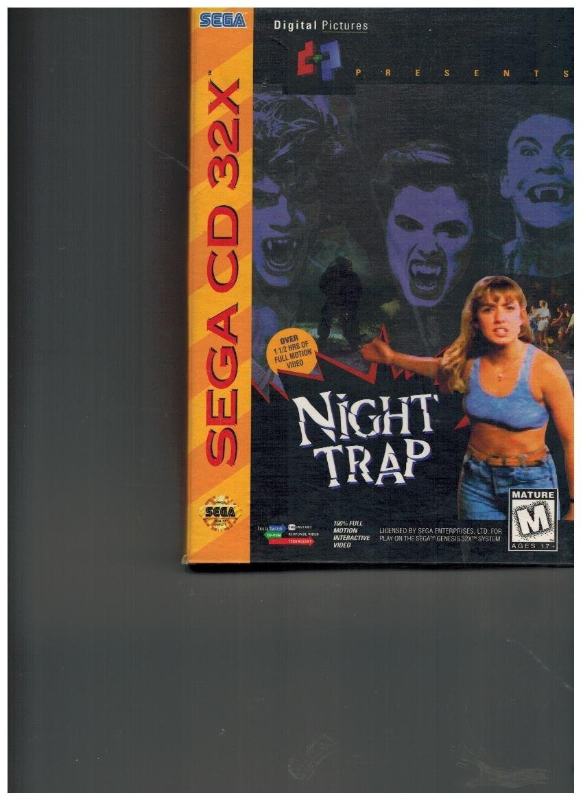 Amazon com: Night Trap: Video Games