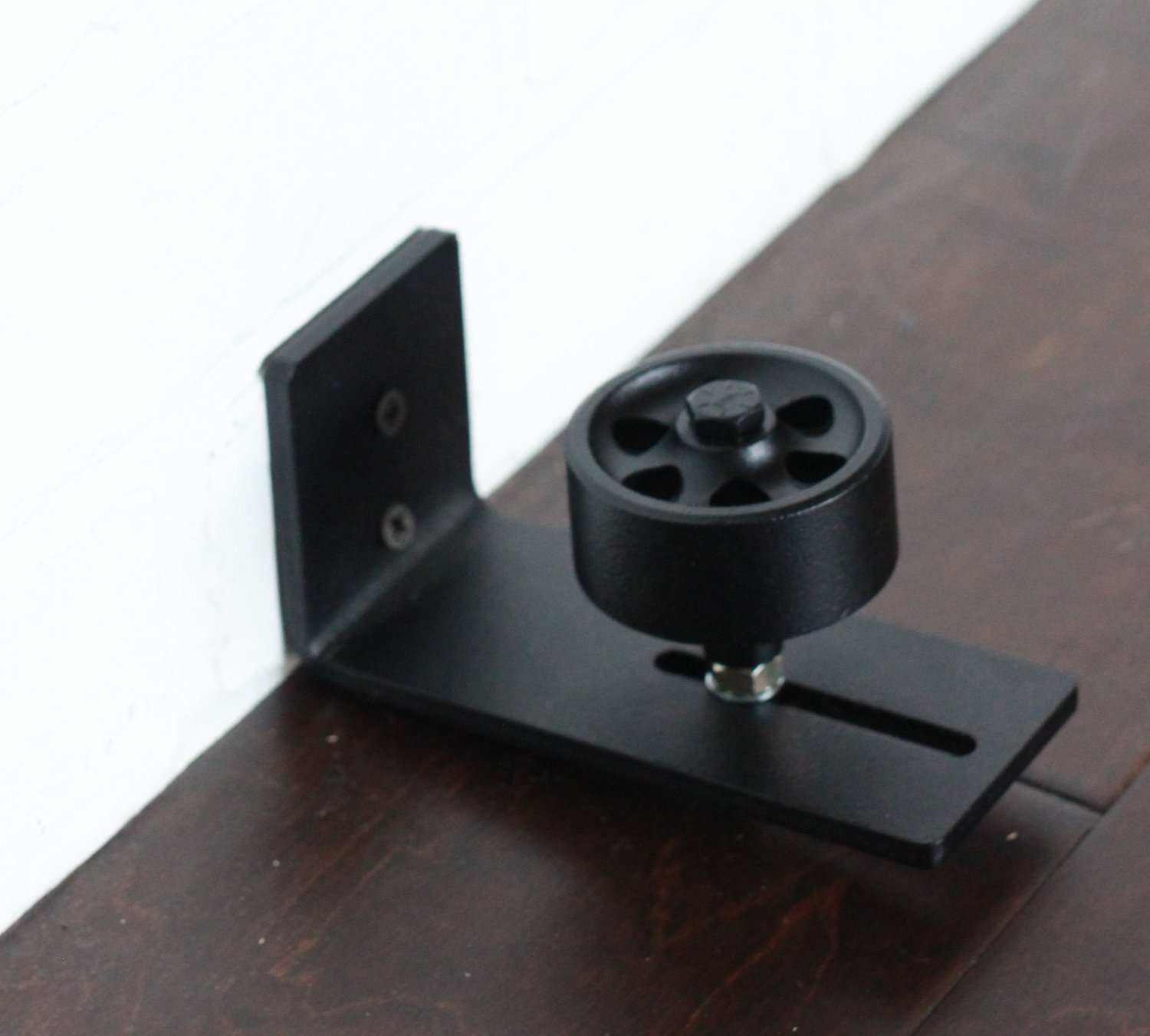 canada dp for barns guide adjustable powder coated amazon floor mount barn hardware black wall channel roller door