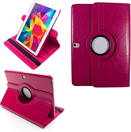 COOVY® 2.0 Etui pour Samsung Galaxy Tab Pro 10.1 SM-T520 SM-T525 Coque de Protection Rotation 360° Smart Housse Cover Case Stand Auto Réveil/Sommeil   ...