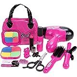 Cute Girls Hair Stylist Beauty Salon Fashion Pretend Play Set