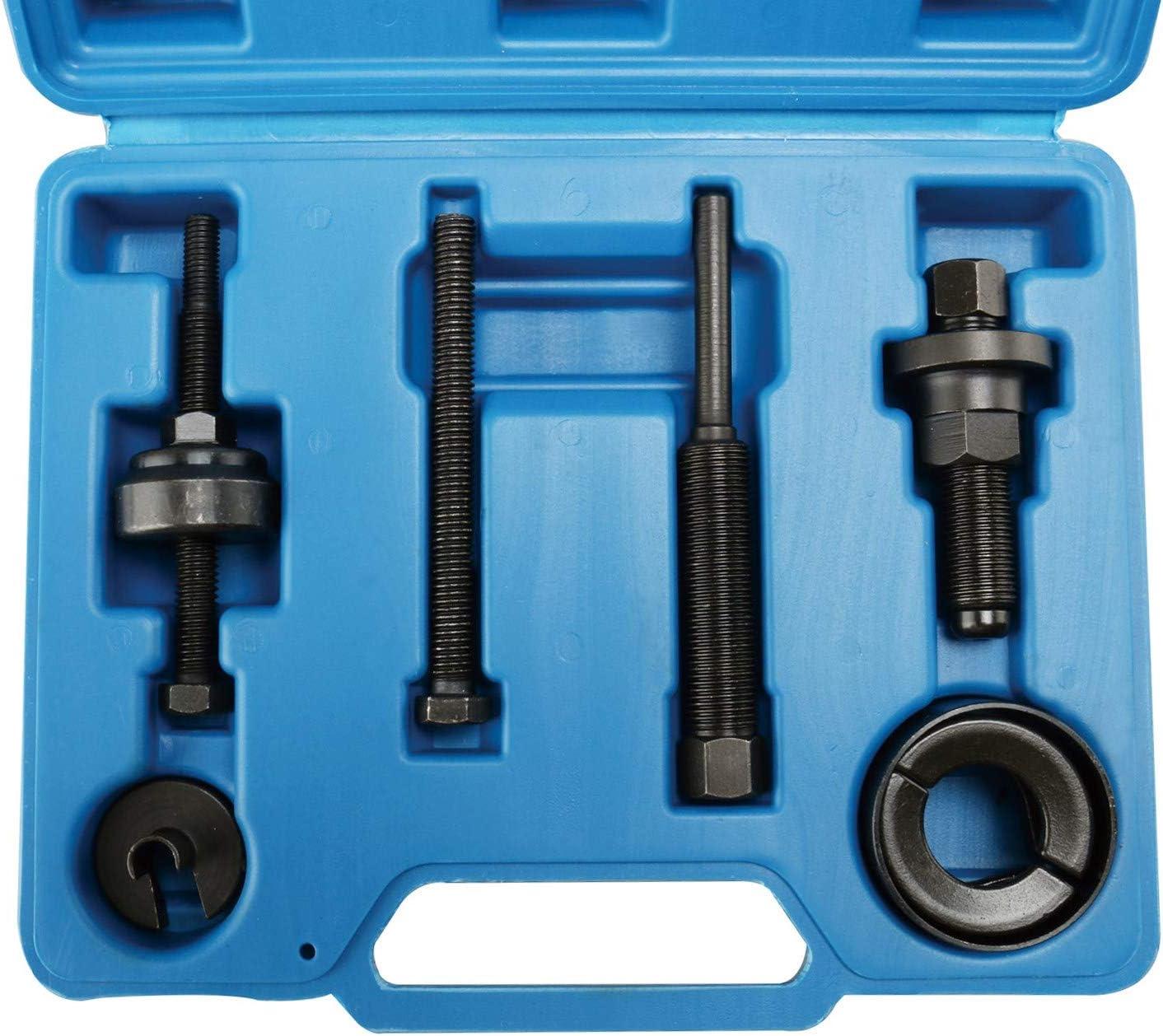 FreeTec 6 St/ück Riemenscheibenabzieher Set mit Kugellagerabzieher Installationswerkzeug Set Kompatibel mit Ford GM