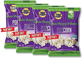 product image for Good Health Sour Cream & Onion or Sweet & Salty Popcorn- Certified Non GMO and Gluten Free (Sour Cream & Onion)