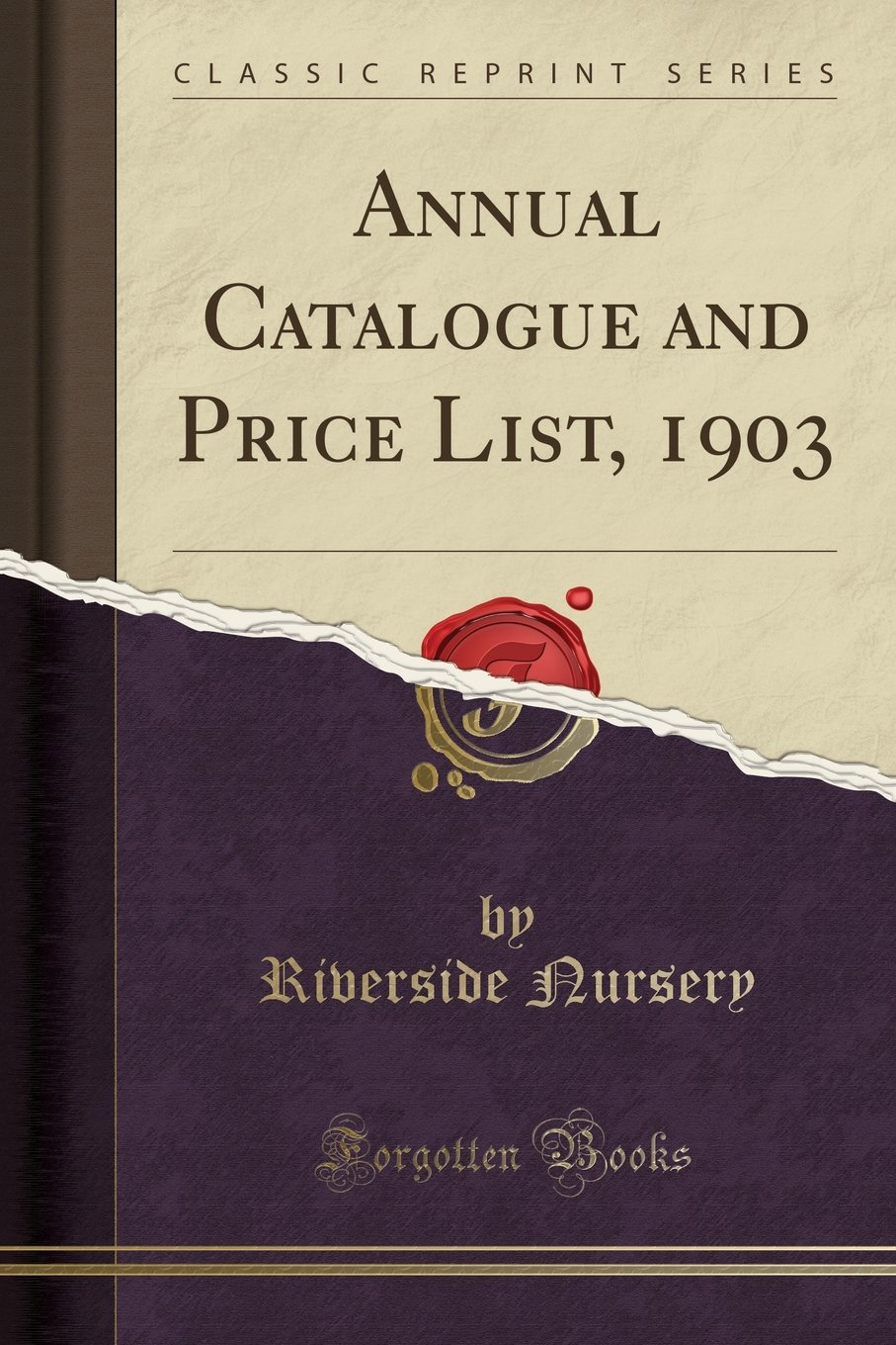 Annual Catalogue and Price List, 1903 (Classic Reprint) pdf epub
