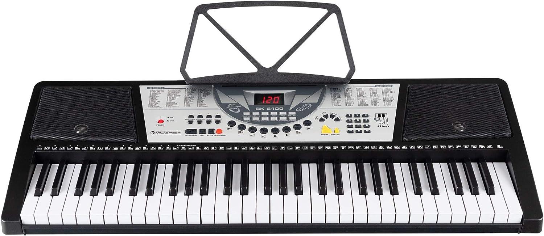 McGrey BK-6100 teclado con 61 teclas y soporte notas