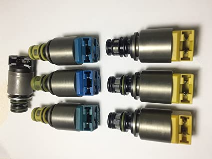Amazon com: Wanheyao Transmission Solenoids For BMW X3 X5