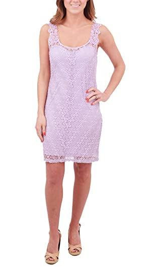 Free People Foiled Again Lace Bodycon Dress (Lilac, Large)
