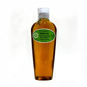 Neem Oil Organic Pure Cold Pressed by Dr. Adorable 8 oz