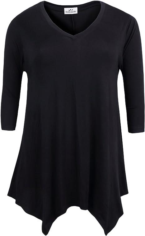Women/'s Plus size tunic top 1x 3x   Very  Soft 2x