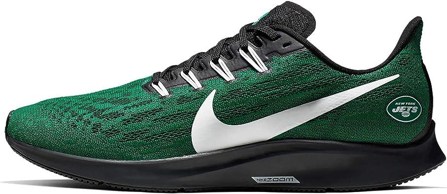 Nike New York Jets Air Zoom Pegasus 36 - Zapatillas deportivas para hombre