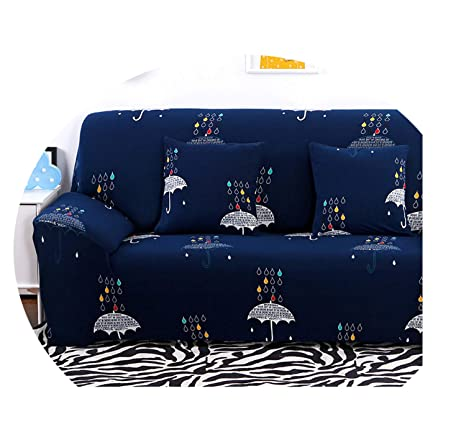 Floral Elastic Sofa Cover Sectional Stretch Slipcovers For ...