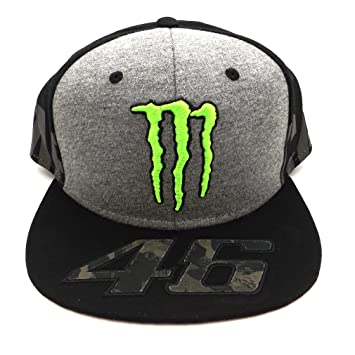 Valentino Rossi VR46 Moto GP Monster Camp Edition Gorra Oficial 2017 ... 8fb6af5df3a