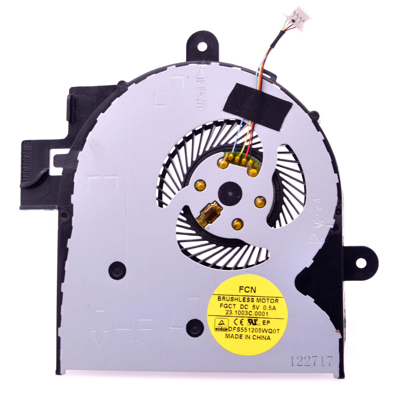 Cooler para HP Envy X360 M6-W M6-W000 M6-W100 M6-W010DX M6-W101DX M6-W102DX 807524-001