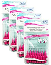 TePe Interdental Brushes 0.4mm Pink - 4 Packets of 8 (32Brushes)