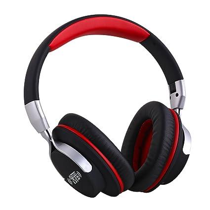 Ausdom AH861 Auriculares Bluetooth 4.1 EDR con micrófono, batería recargable de 400 mAh y Share