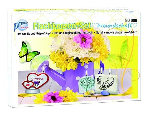 Made in Germany perfektes Set zum Herstellen von Bienenwachs Kerzen CREARTEC f/ür die Kerzenherstellung Bienenwachs Kerzen Set