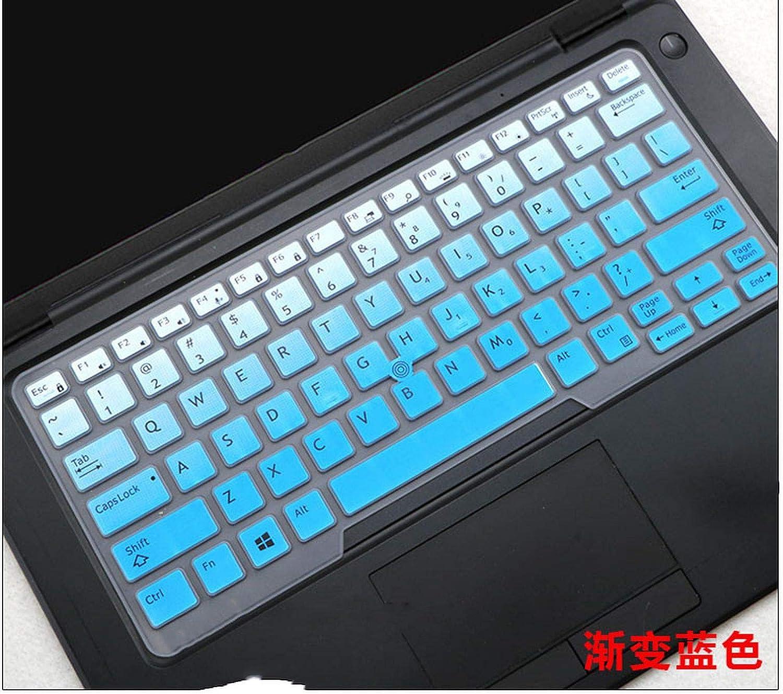 2020 Laptop Keyboard Cover Protector Skin for 14 Dell Latitude 5450 3340 7480 7490 5490 5491 E5450 E5470 E7270 E7450 E7490 E5490-Blue