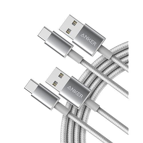 Anker 高耐久ナイロン USB-C & USB-A 2.0 ケーブル2本セット