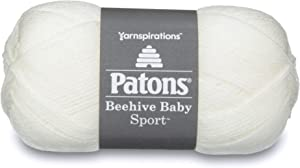 Patons Beehive Baby Sport Yarn, 3.5 oz, Vintage Lace, 1 Ball