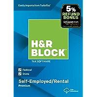 H&R Block Tax Software Premium 2018 with 5% Refund Bonus Offer [Mac Download]