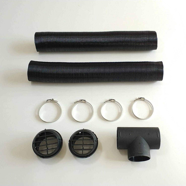 Auto Lufterhitzer Zubehör Standluftheizungsrohr Zubehör Für Ersatzschlauchklemme Für Diesel Standheizung 75mm Baumarkt