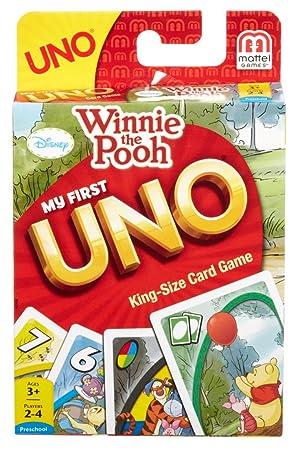 CARTAS UNO WINNIE THE POOH: Amazon.es: Juguetes y juegos