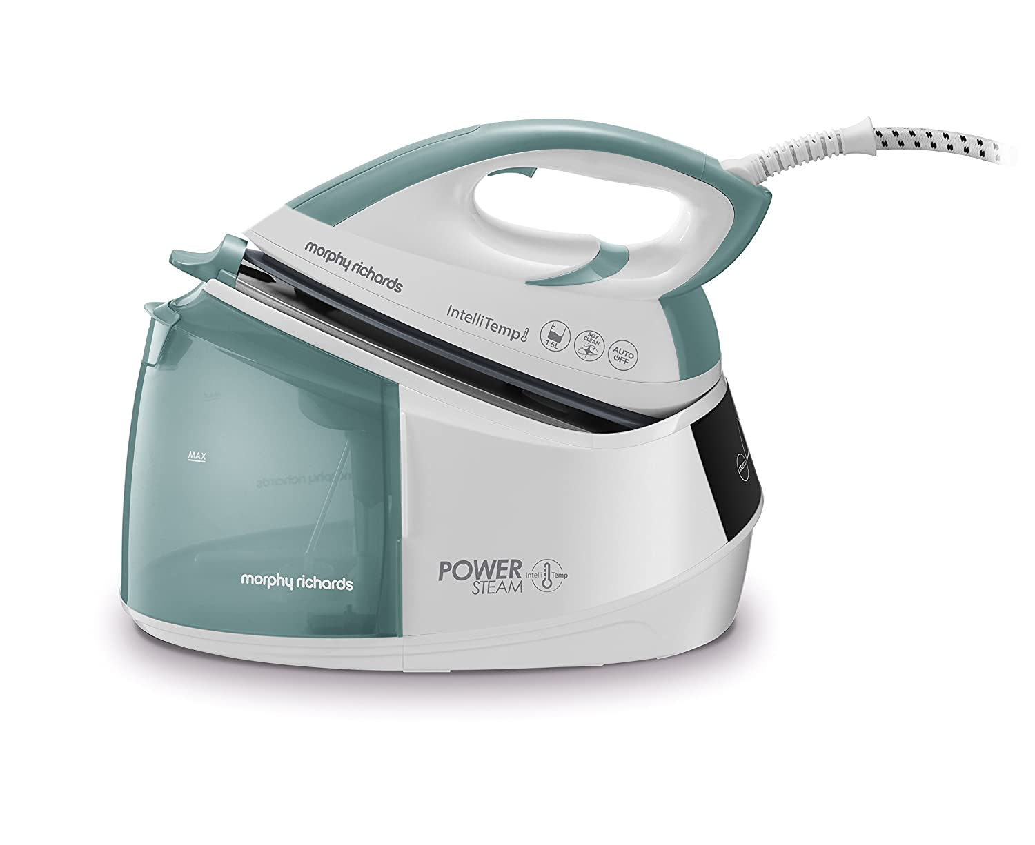 Morphy Richards Power Steam Generator Iron 333300 with Intellitemp Steam Generator No Burns Guaranteed 2600w