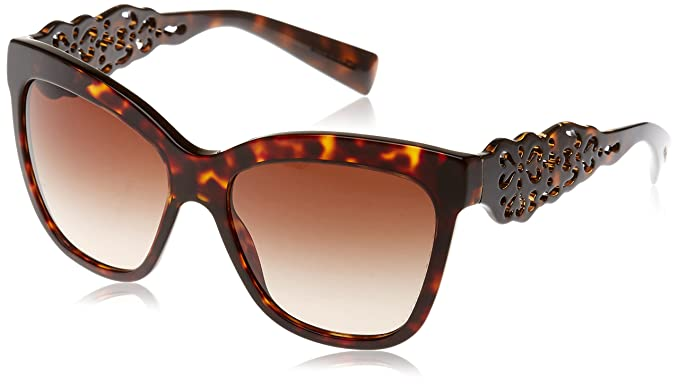 Dolce & Gabbana DG4264 502/13 (55 mm) gafas de sol, Marrón ...