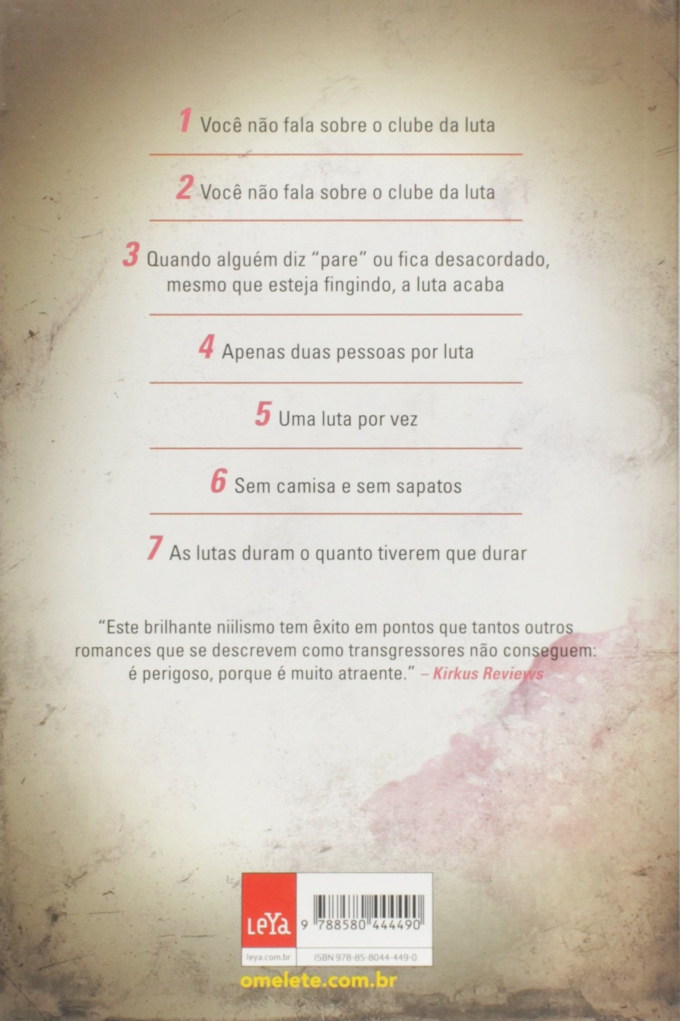 Clube Da Luta Livros Na Amazon Brasil 9788580444490