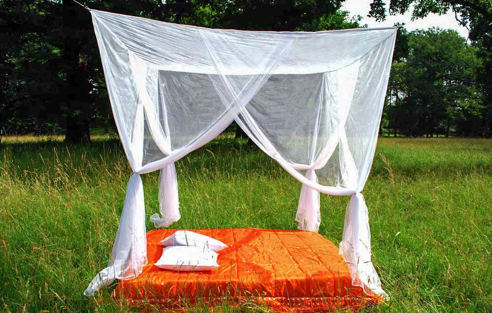 Mokito Canopy LaLuna160. A Tight Mosquito Net for Double Beds. 4260057671042