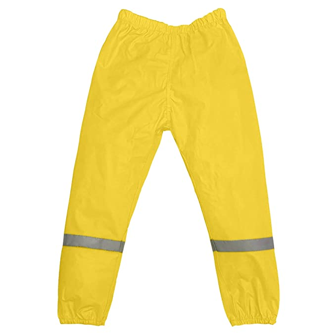 Amazon.com: Splashy PVC infantil lluvia y barro pantalones ...