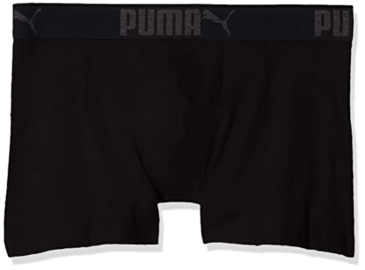 a19a2ca40c7 Puma 3 x Mens Sueded Cotton Boxer Shorts Black 2XL: Amazon.co.uk: Clothing