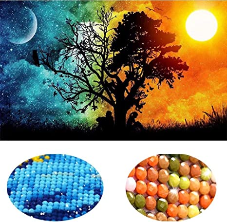 5D DIY Diamond Painting Embroidery Cross Stitch Kits Pictures of Rhinestones