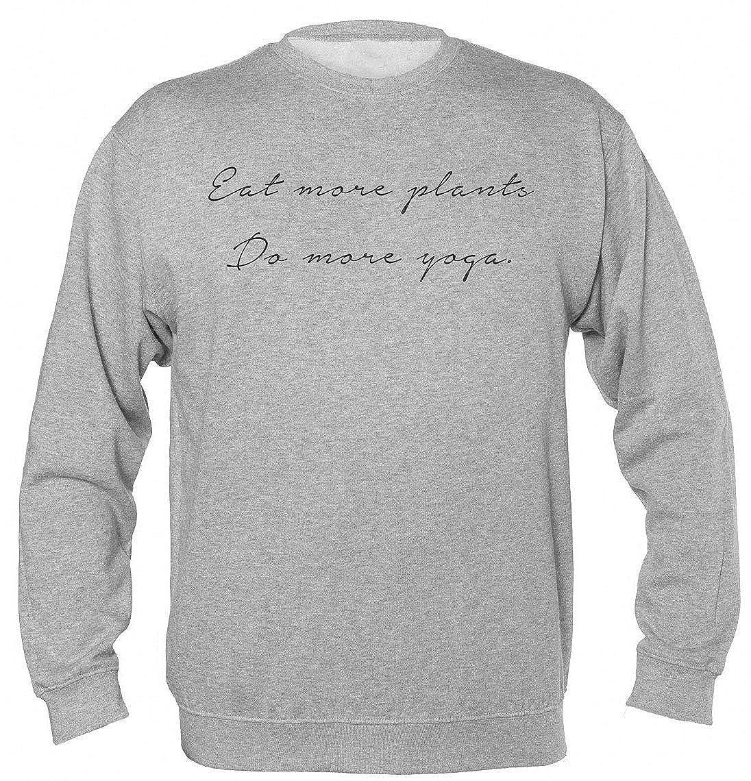 Finest Prints Eat More Plants Do More Yoga Minimal Quote ...