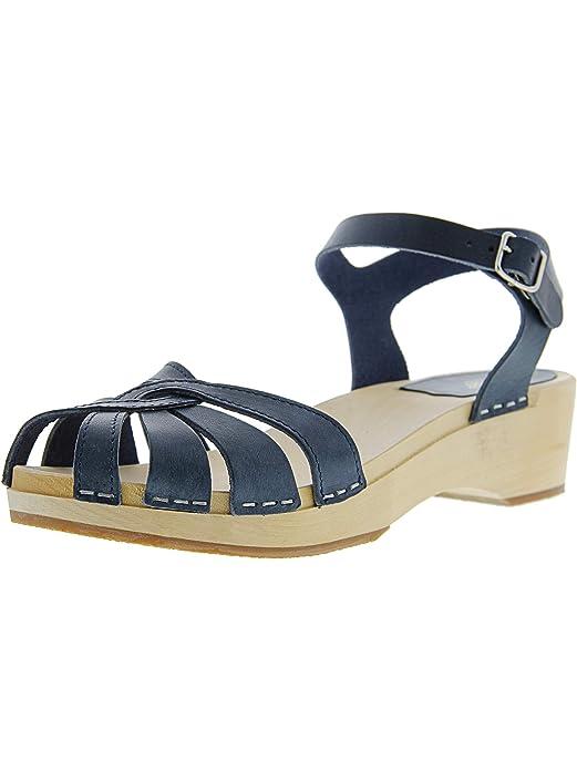 4c1a6974ef4 Amazon.com  swedish hasbeens Women s Cross-Strap Debutant Platform Sandal  Swedish  Hasbeens  Shoes