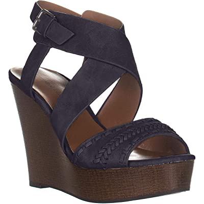 Indigo Rd. Womens Kash Faux Leather Slingback Wedge Sandals | Platforms & Wedges