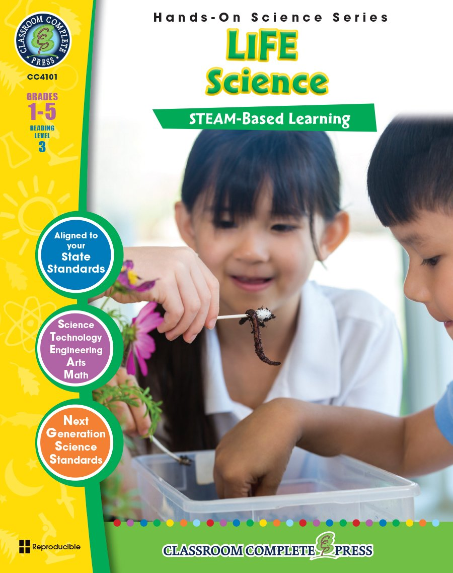 Hands-On STEAM - Life Science Gr. 1-5 - Classroom Complete Press pdf epub