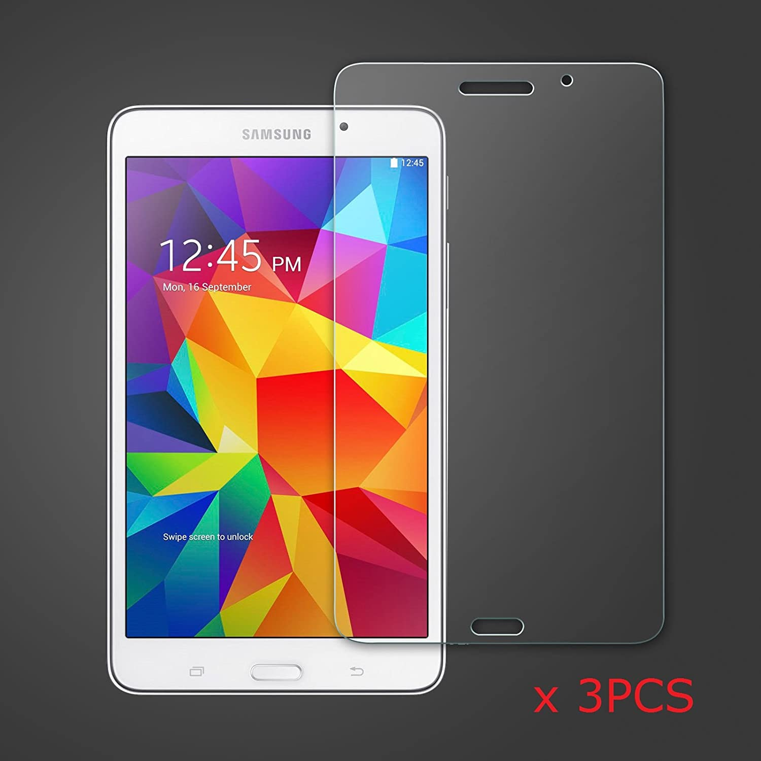 ANiceSeller 3 PACK Clear LCD Screen Protector Guard Film for Samsung Galaxy  Tab 4 NOOK 7'' T230 SM-T230NU T237