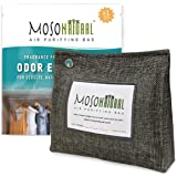 MOSO NATURAL: The Original Air Purifying Bag. 300g Stand Up Design. For Closets, Bathrooms, Pet Areas. An Unscented…