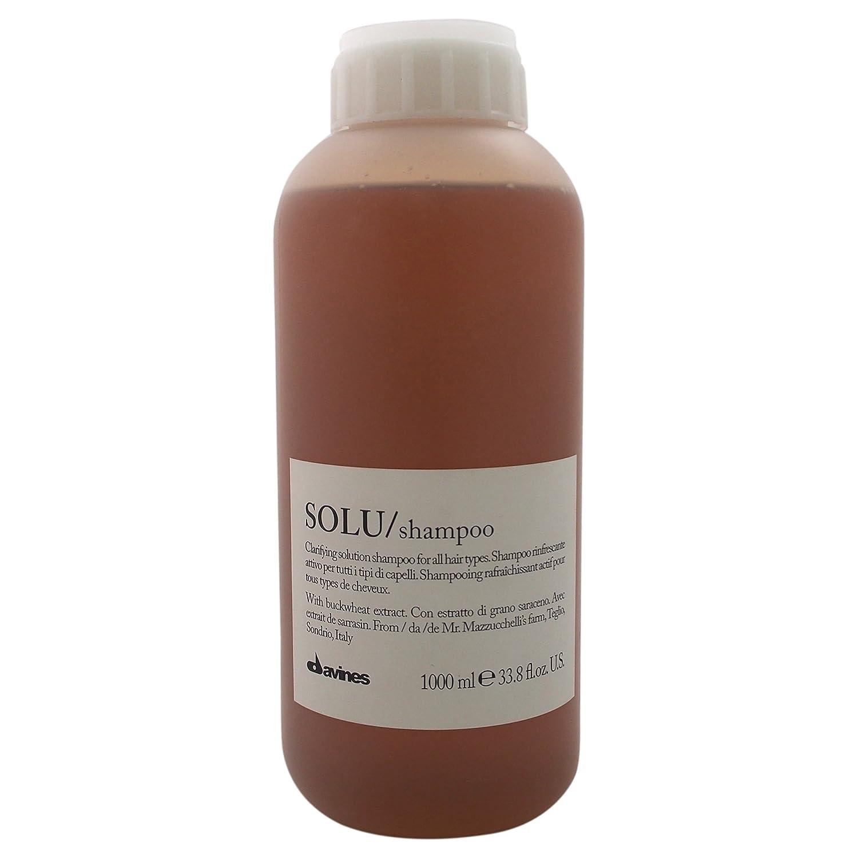 Davines Solu Clarifying Solution Shampoo for Unisex, 33.79 Ounce 8004608242260