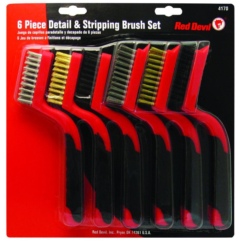 Red Devil 4170 6 Piece Wire Brush Set
