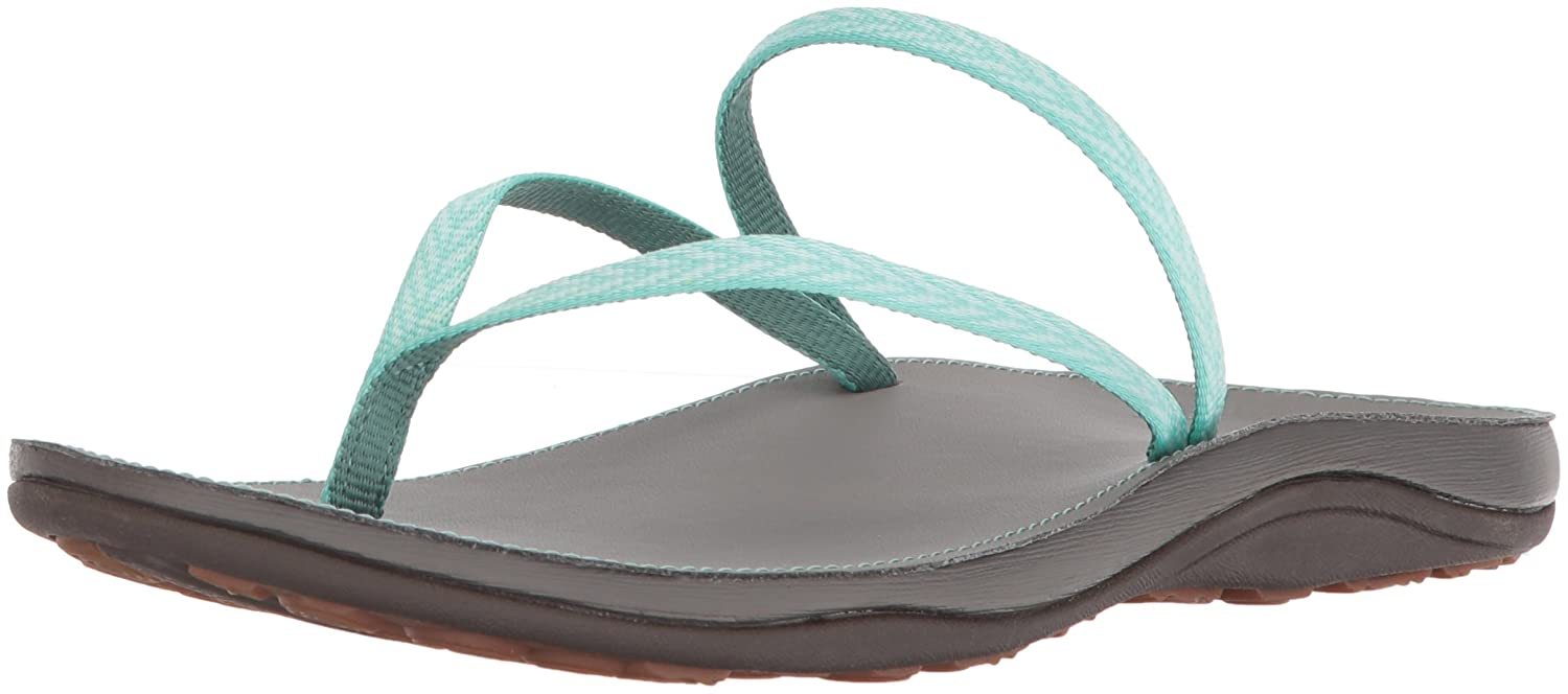 Chaco Women's Abbey Flip-Flop, Peaks Bow, 12 Medium US