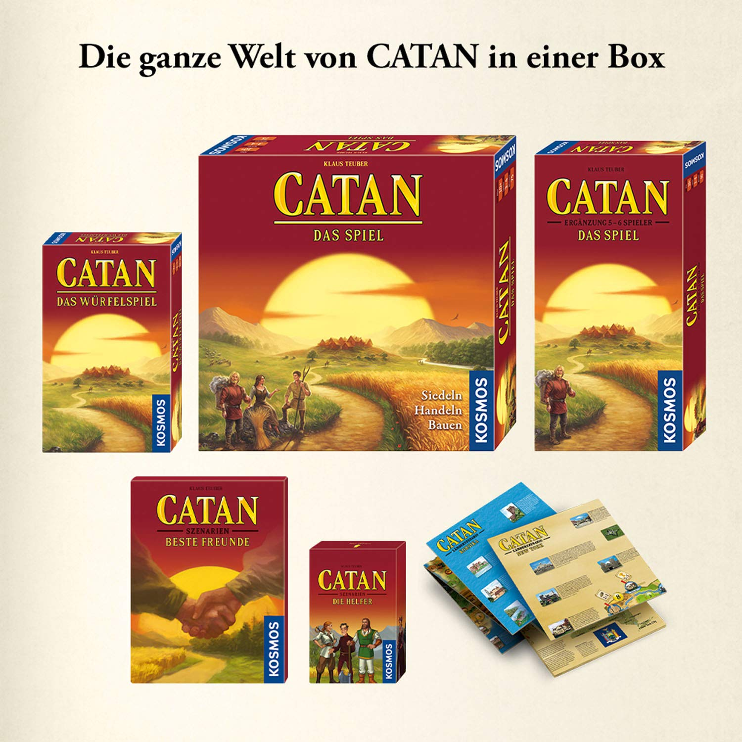 Catan - Big Box 2019: Amazon.es: Libros en idiomas extranjeros
