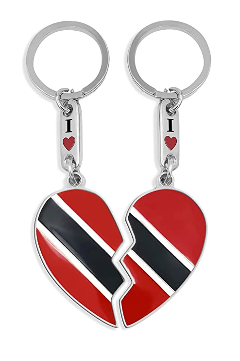 Amazon.com: Customizable Trinidad & Tobago Flag Heart ...