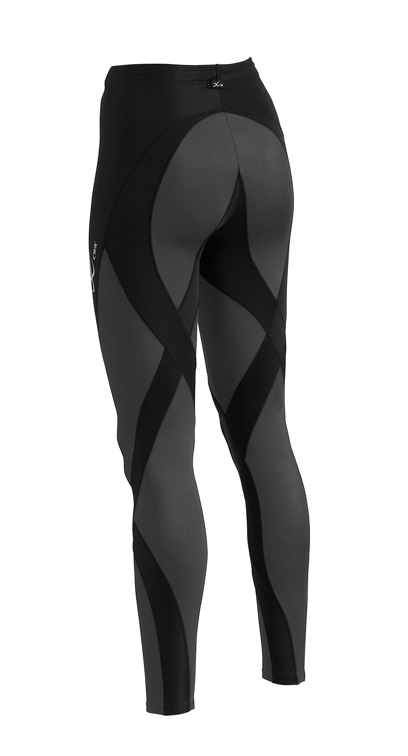 CW-X Women's Pro Running Tights,Black,Large by CW-X (Image #2)