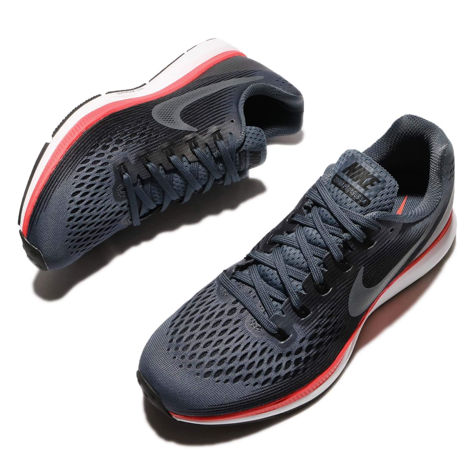 Nike Women's Air Zoom Pegasus 34 Running Shoes-Blue Fox/Black-5 by Nike (Image #6)