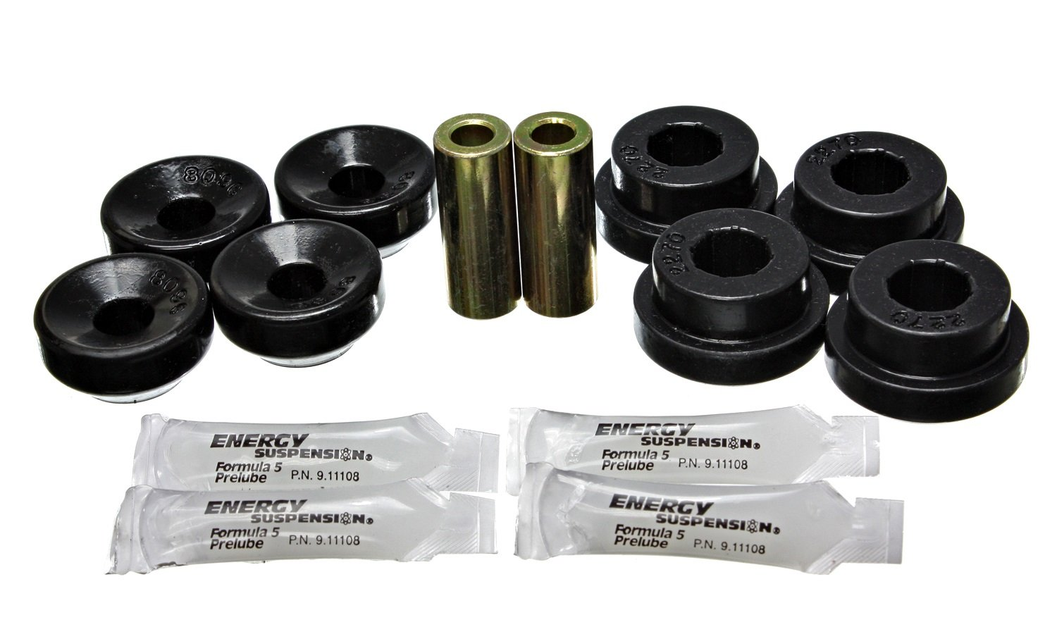 Energy Suspension 16.8103G Shock Mount Bushing Set by Energy Suspension