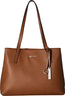 3bc9cf3cc Amazon.com: Nine West Caden Tote, Black/Gunmetal: Clothing