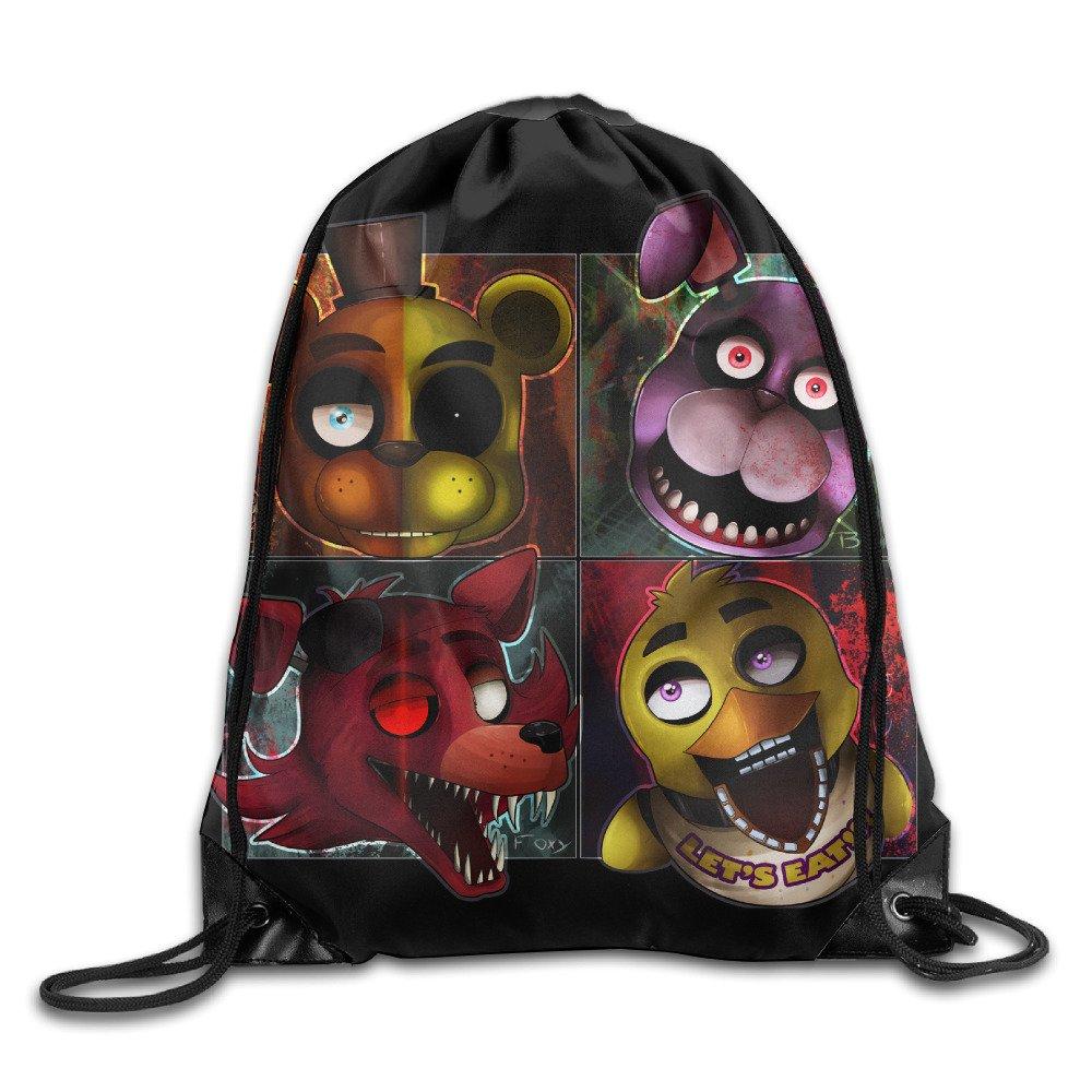 Five Nights At Freddys袋バッグ巾着バックパックスポーツバッグ B01LQ90Q7U  One Size